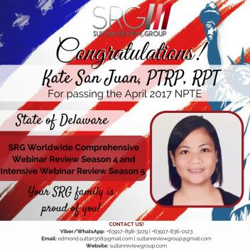 SRG Kate San Juan